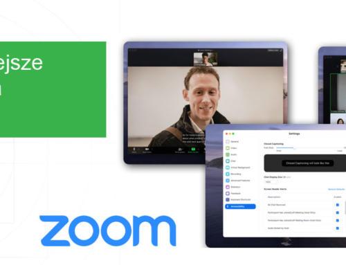 Wygodniejsze spotkania w Zoom